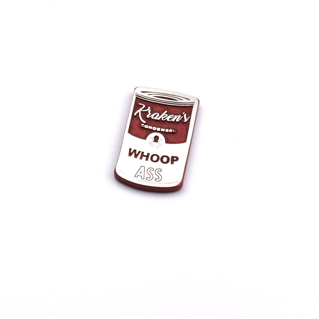 Can of Whoop Ass Ball Marker - Aluminum / Red Powder