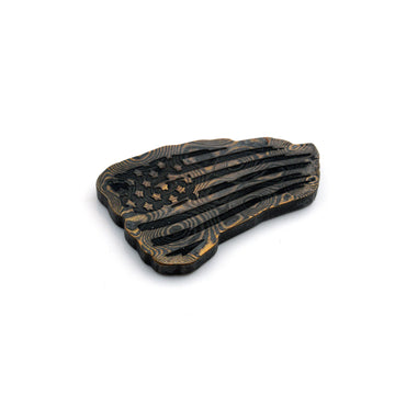 Tattered Flag Ball Marker - Mokume