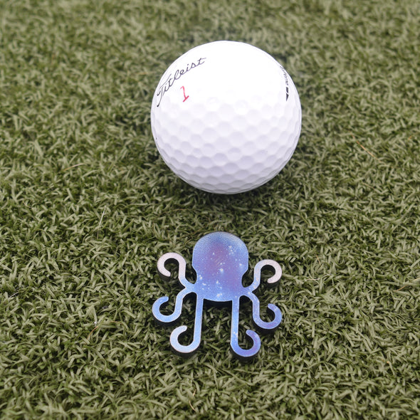 Kraken Ball Marker - Torched Carbon Steel