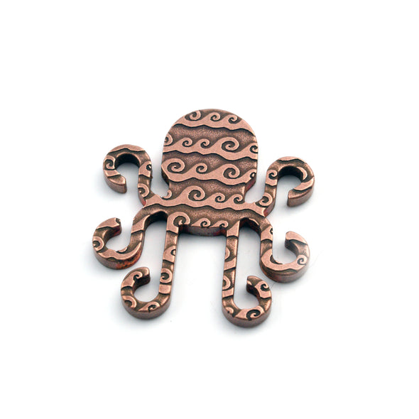 Kraken Ball Marker - Waves / Shut Up and Putt