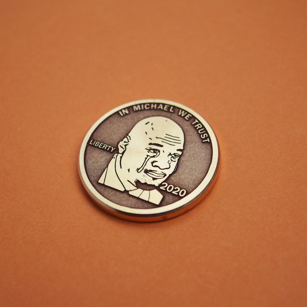Crying MJ Ball Marker - Copper