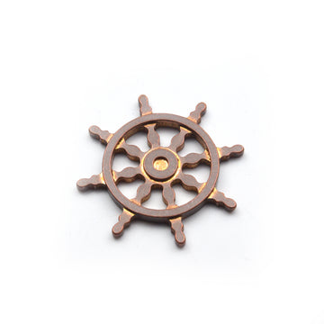 Ship Wheel Ball Marker