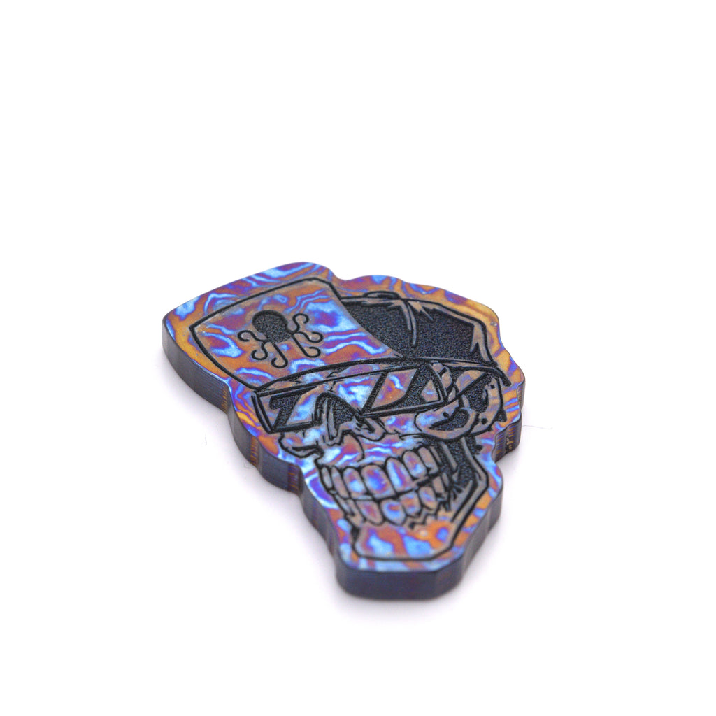 Skulls with Shades Marker - Timascus - 1st Edition