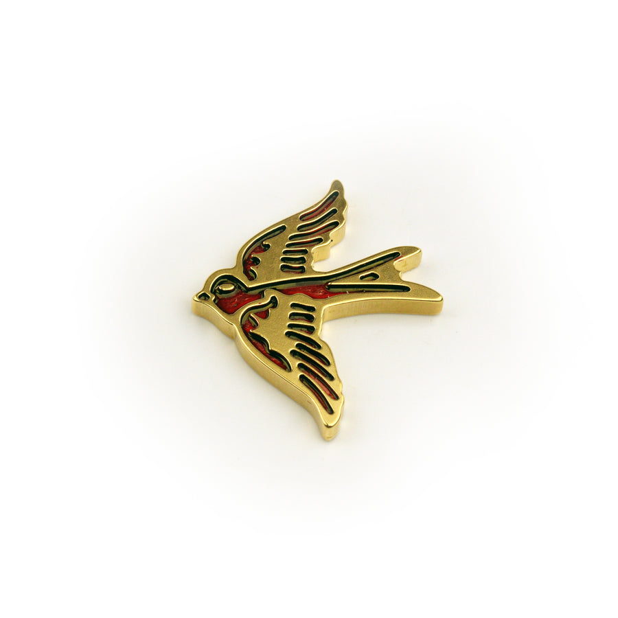 Swallow Ball Marker - Brass