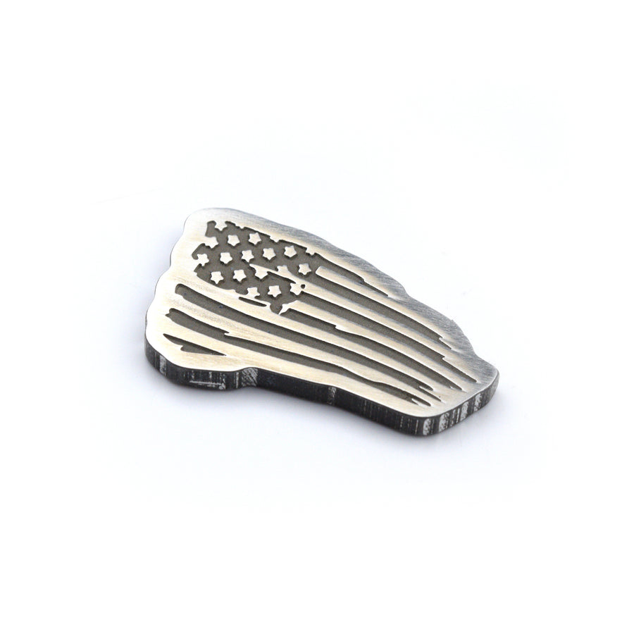 Tattered Flag Ball Marker - Aluminum