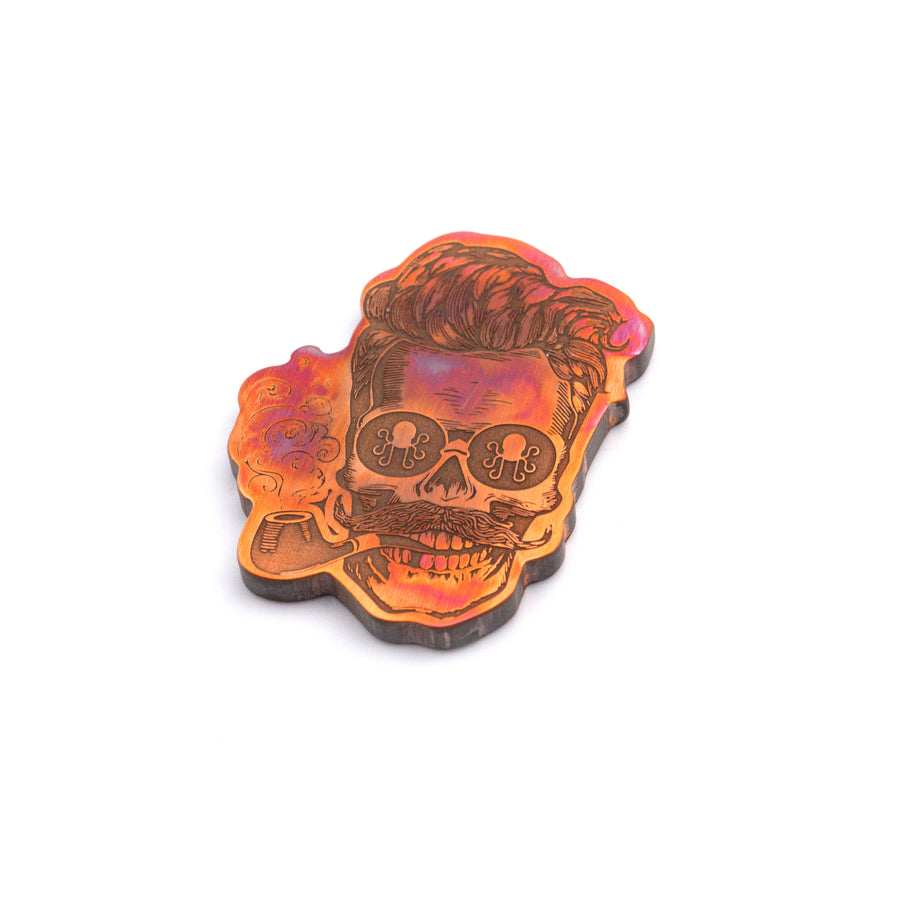 Torched Skull Ball Marker
