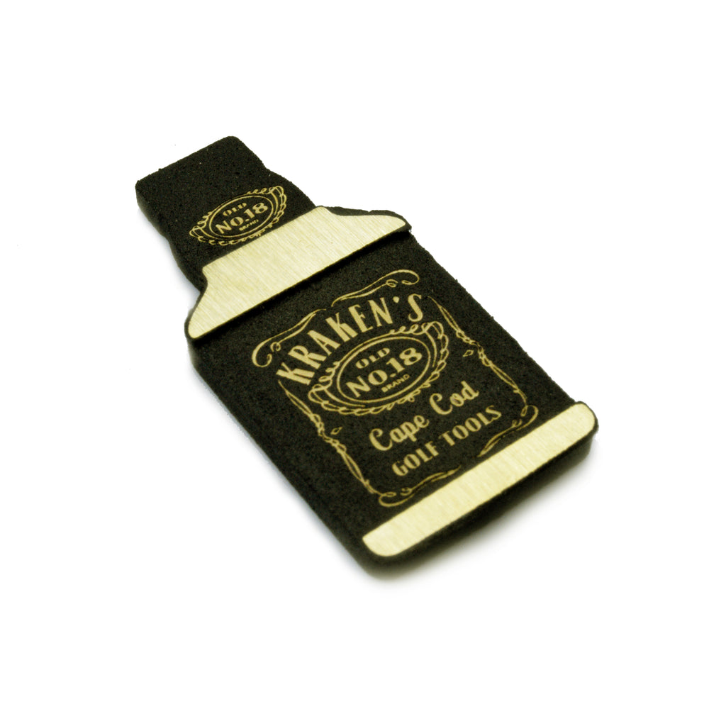 Whiskey Marker - Brass with Black Powder
