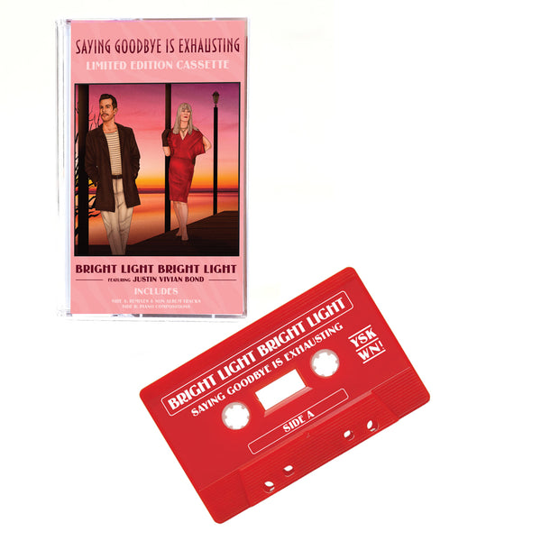 Saying Goodbye Is Exhausting - Limited Edition Red Cassette for World AIDS Day