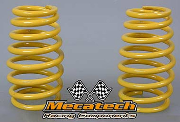 MEC2009-04 Cask shaped springs for Mecatech Shocks - Yellow 2