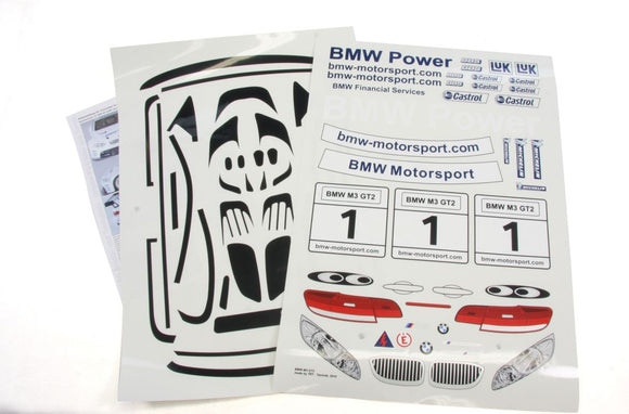 Superstar BMW M3 detail decals