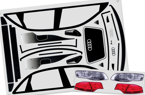 Superstar Audi A4 Deatil decals