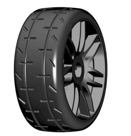 GTX01 S Compound 1:8 GT - S Tires - 1 Pair