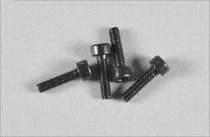 MEC1000-42 Mecatech screws M3x8 allen head, 8 pcs.