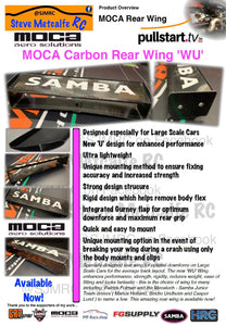 MOCA/Samba Carbon Fiber TC Rear Wing