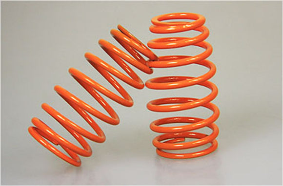 MEC2009-01 Cask shaped springs for Mecatech Shocks - Orange-
