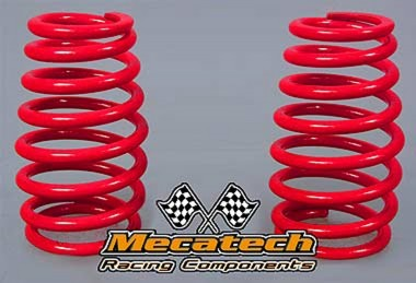 MEC2009-03 Cask shaped springs for Mecatech Shocks - Red 2.5-