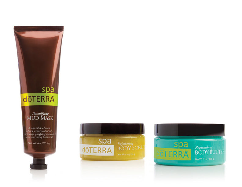 dōTERRA SPA Luxury Kit