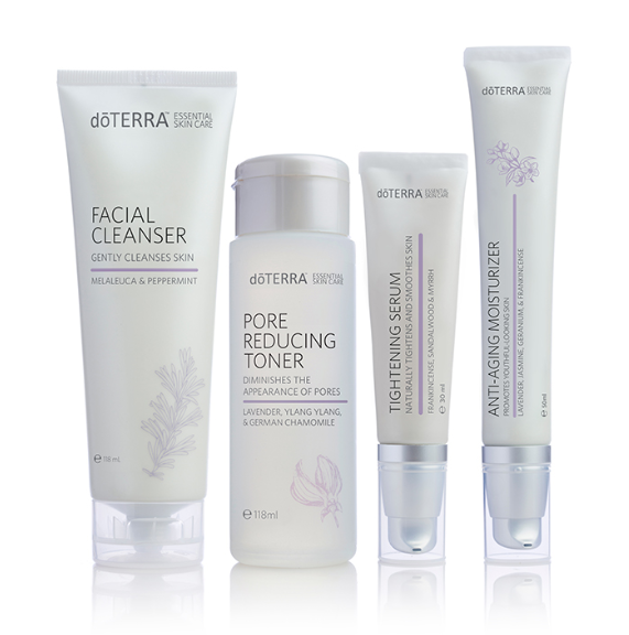 dōTERRA Skin Care System with Anti-Aging Moisturizer