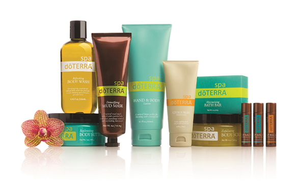 dōTERRA® Total SPA Kit