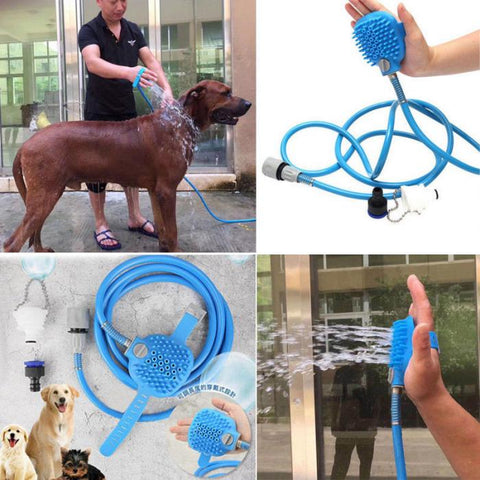 Pet Bathing Cleaner w/Massage Tool