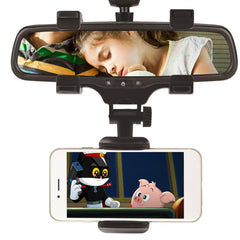 REARVIEW MIRROR UNIVERSAL SMARTPHONE HOLDER