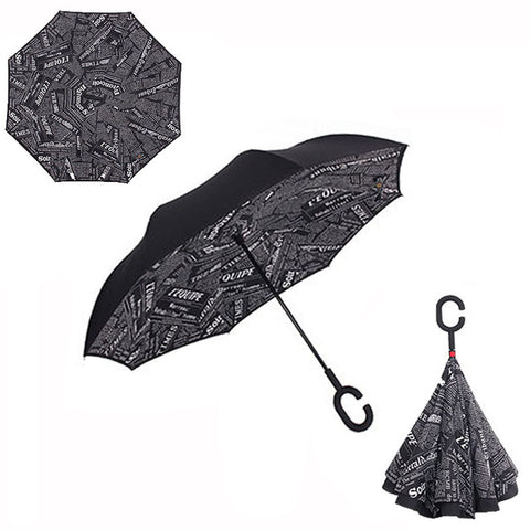 Reverse Double Layer Inverted Umbrella