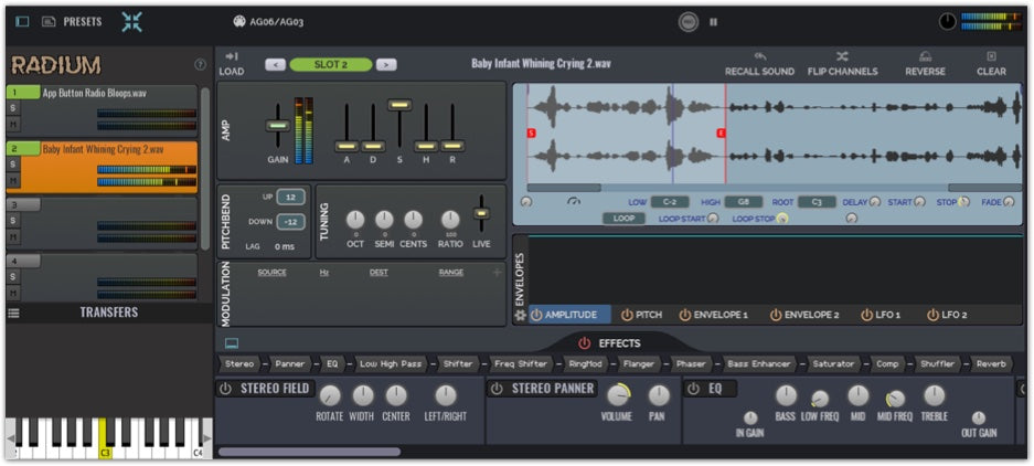 Using a Sampler for Sound Design