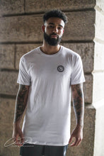 Men's White Longline T-Shirt - beyond-lifestyle