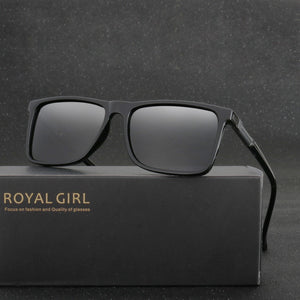 Polarized Fashion Men Polarized Sunglasses Men Driving Mirrors Coating Points Eyewear Male With Case MS002