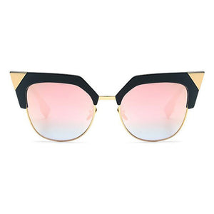 Vintage Cat Eye Sunglasses for women 2017 Acetate retro pointed ladies glasses SS933