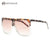 Sunglasses Women Oversize Square Frame Summer Style Luxury Brand Designer Mirror Eyewear With Box UV400 AE0469