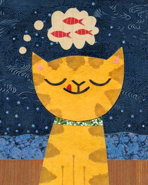 Kate Endle cat art