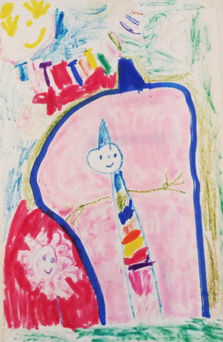 Kate Endle toddler drawing
