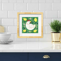 Hen and Chicks Print