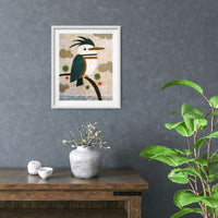 Kingfisher Kingfisher Print