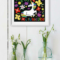 Uniquely Unicorn Print