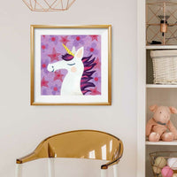 Unicorn Purple Print