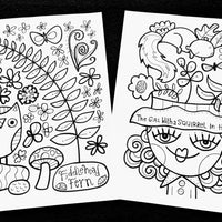 Color With Caspar And Kate Coloring Pages Volume 3
