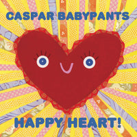 Caspar Babypants CD, Happy Heart!