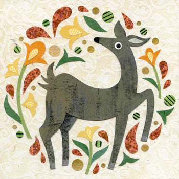 kate endle deer art print