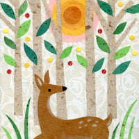 Deer In the Forest Print