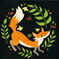 kate endle fox art print