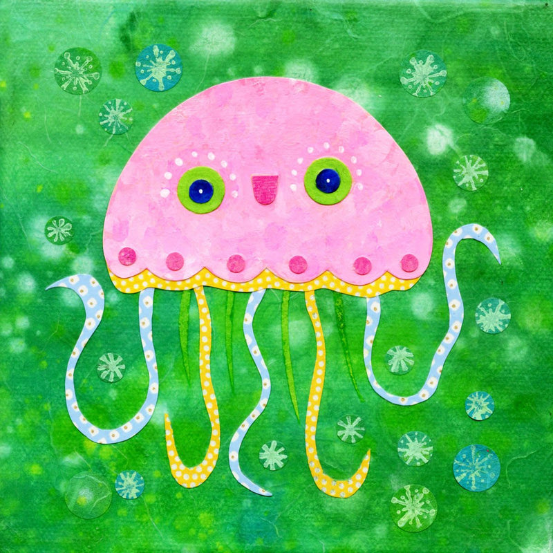 kate endle jelly fish art print