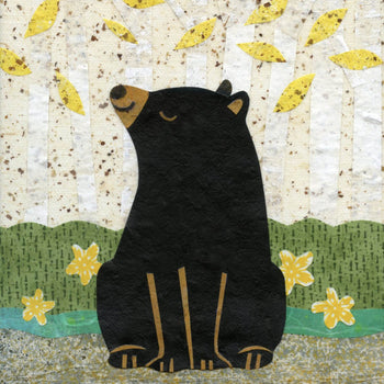kate endle bear art print