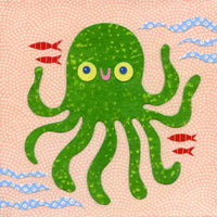 octopus art print kate endle