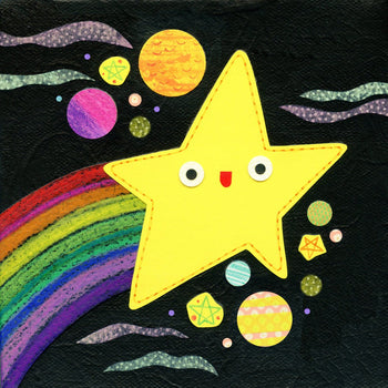shooting star art print kate endle