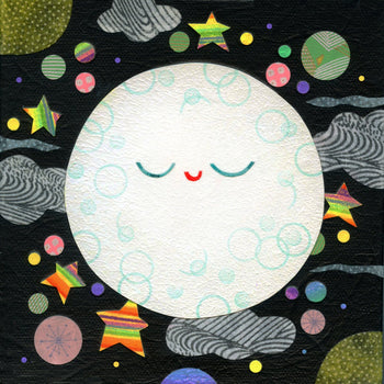 kate endle moon art print