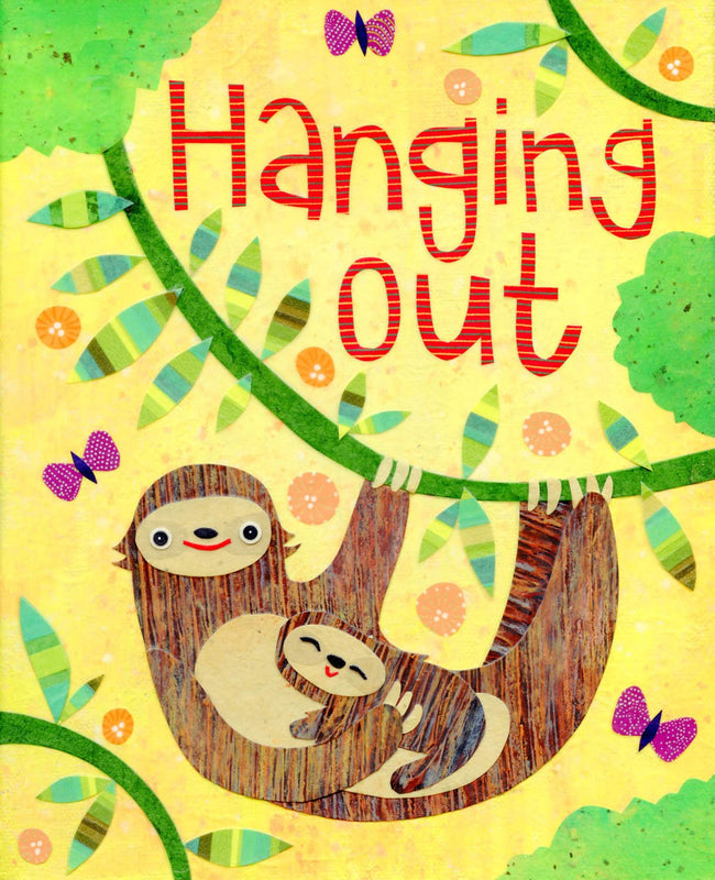 kate endle sloth art print