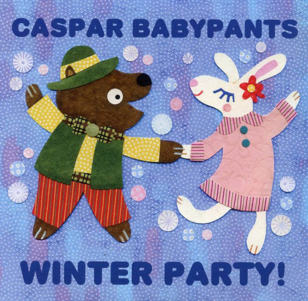 caspar babypants winter party music cd for kids