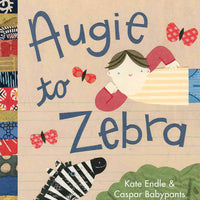 kate endle augie to zebra children's alphabet picture book